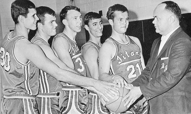 The 1967 BJC Starting Five